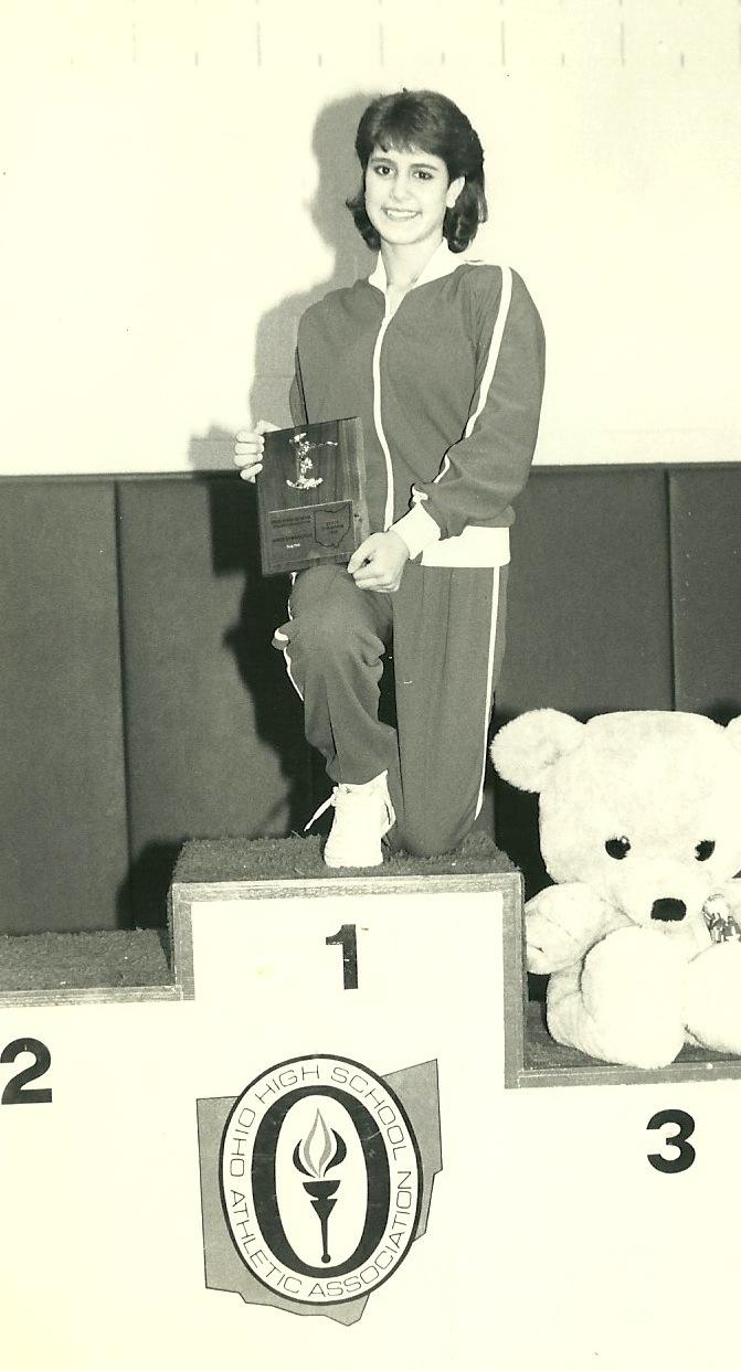 1986 OHSAA Vault State Champion