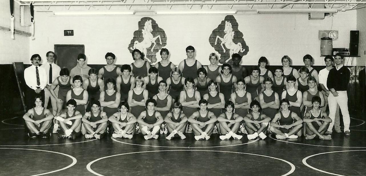 1985 STATE RUNNER-UP  Wrestling