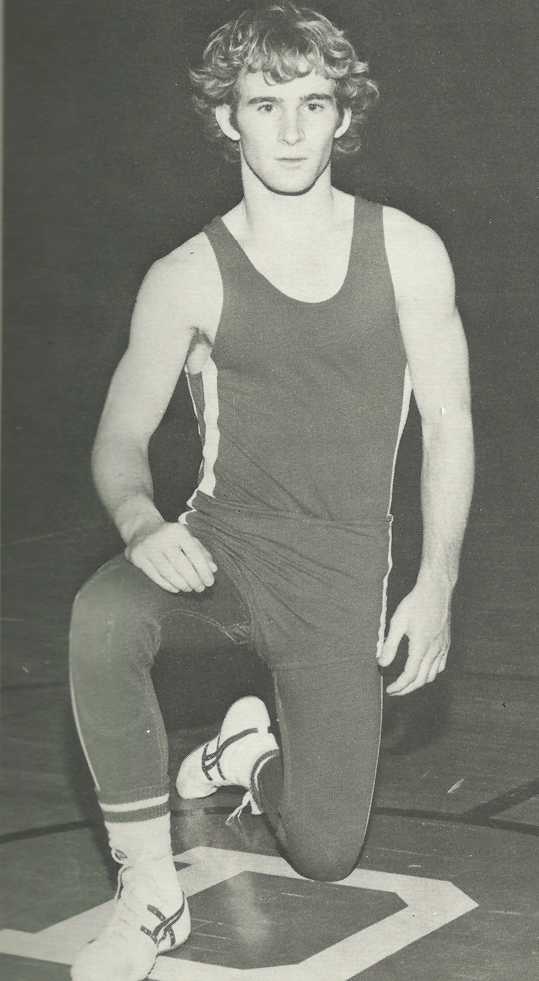 1974, 1975 STATE CHAMPION  Thom Herold, 132 Pounds