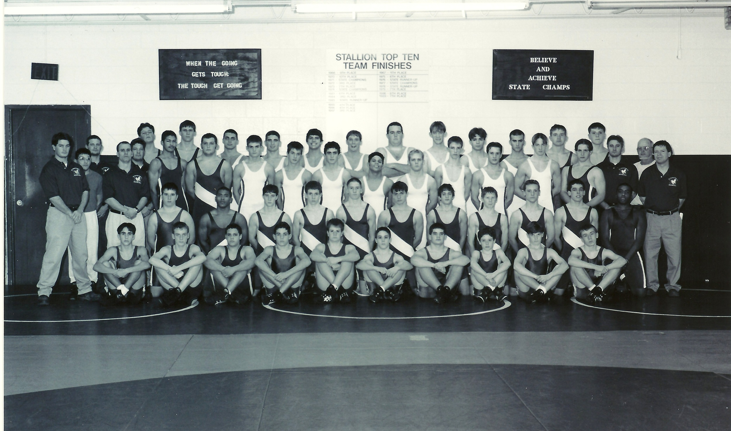 2000 Division-II State Runner-up