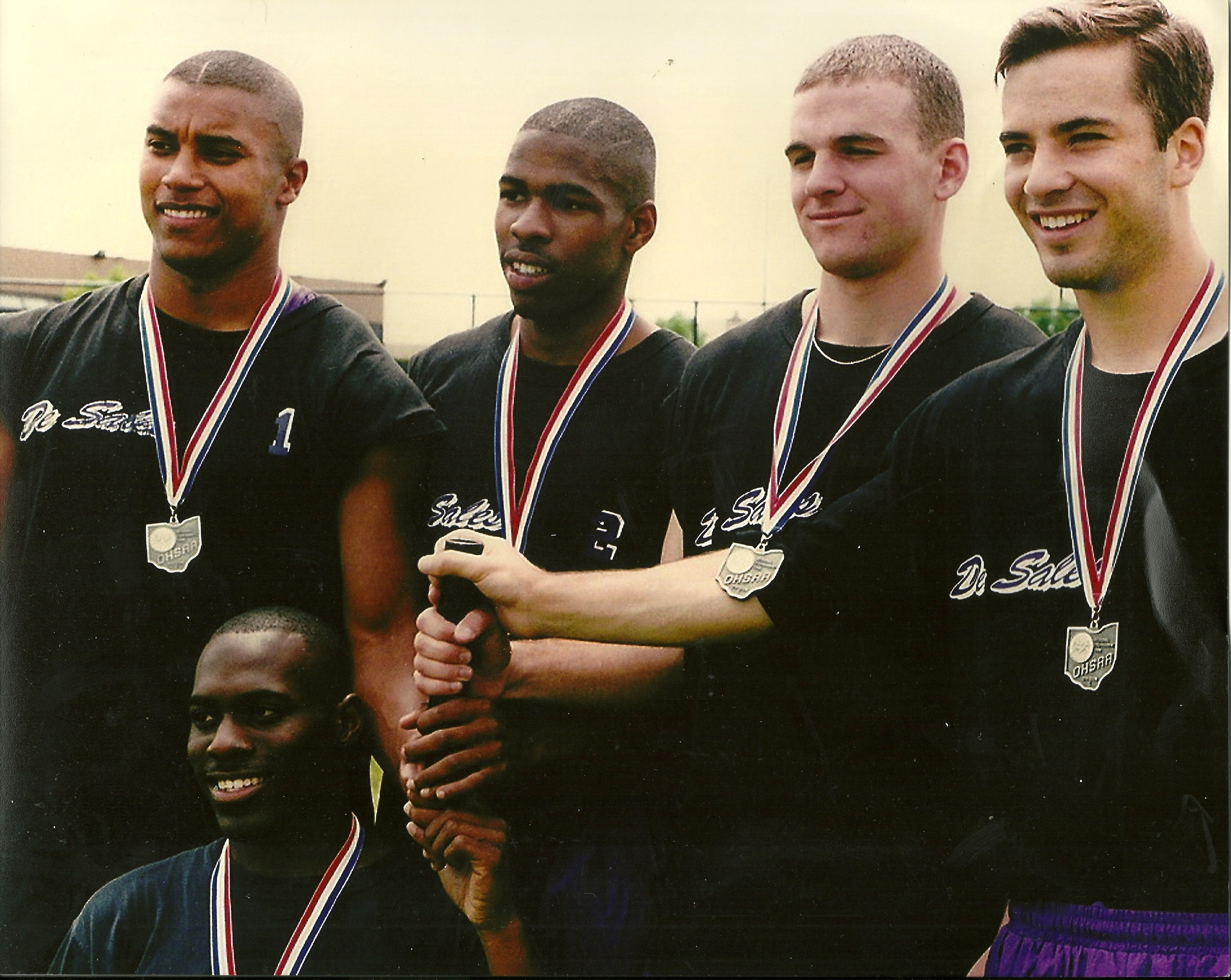 1996 Regional 4X100 Champions