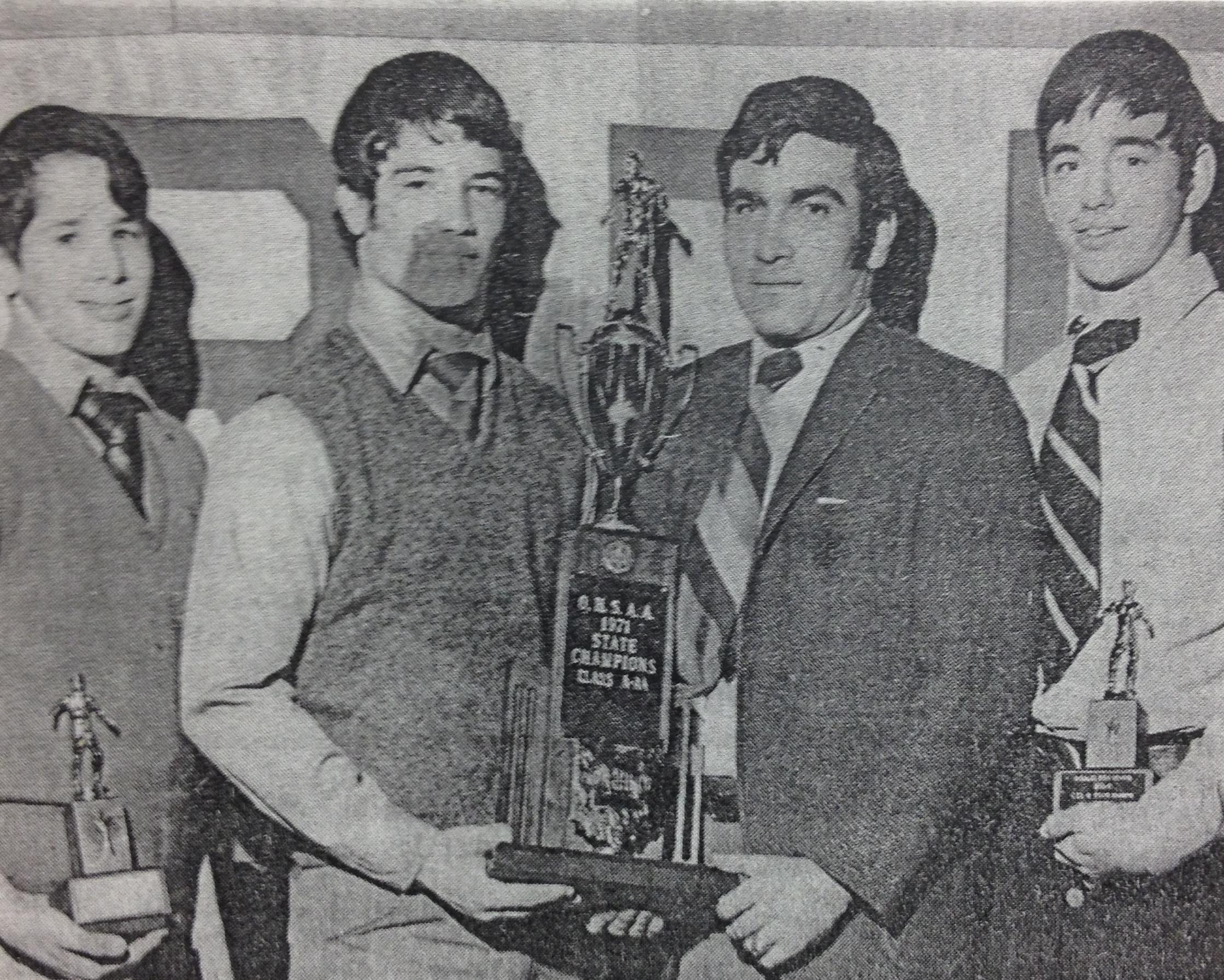 Tom Bauer, Tim Wilson, Bob Triano and Joe Gordon