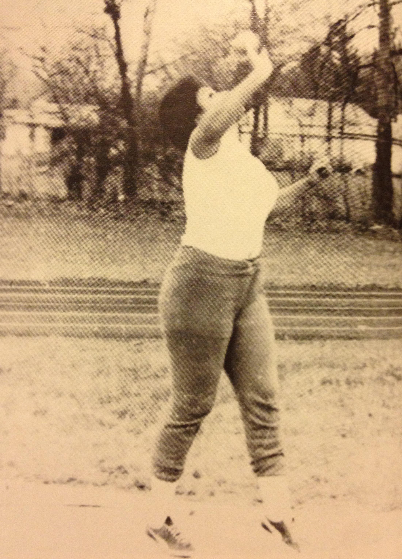 1977, 1978 STATE CHAMPION  Nancy Jenkins, Shot Put