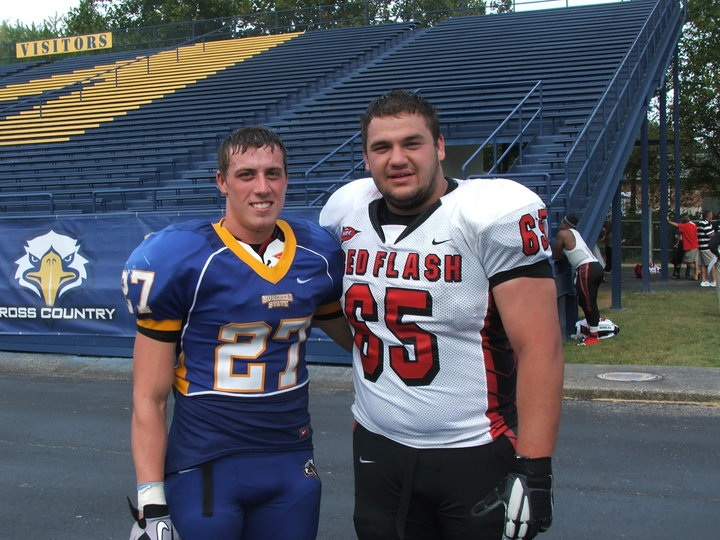 Adam Slupski '08 (left), Jake Smith '09 (right)
