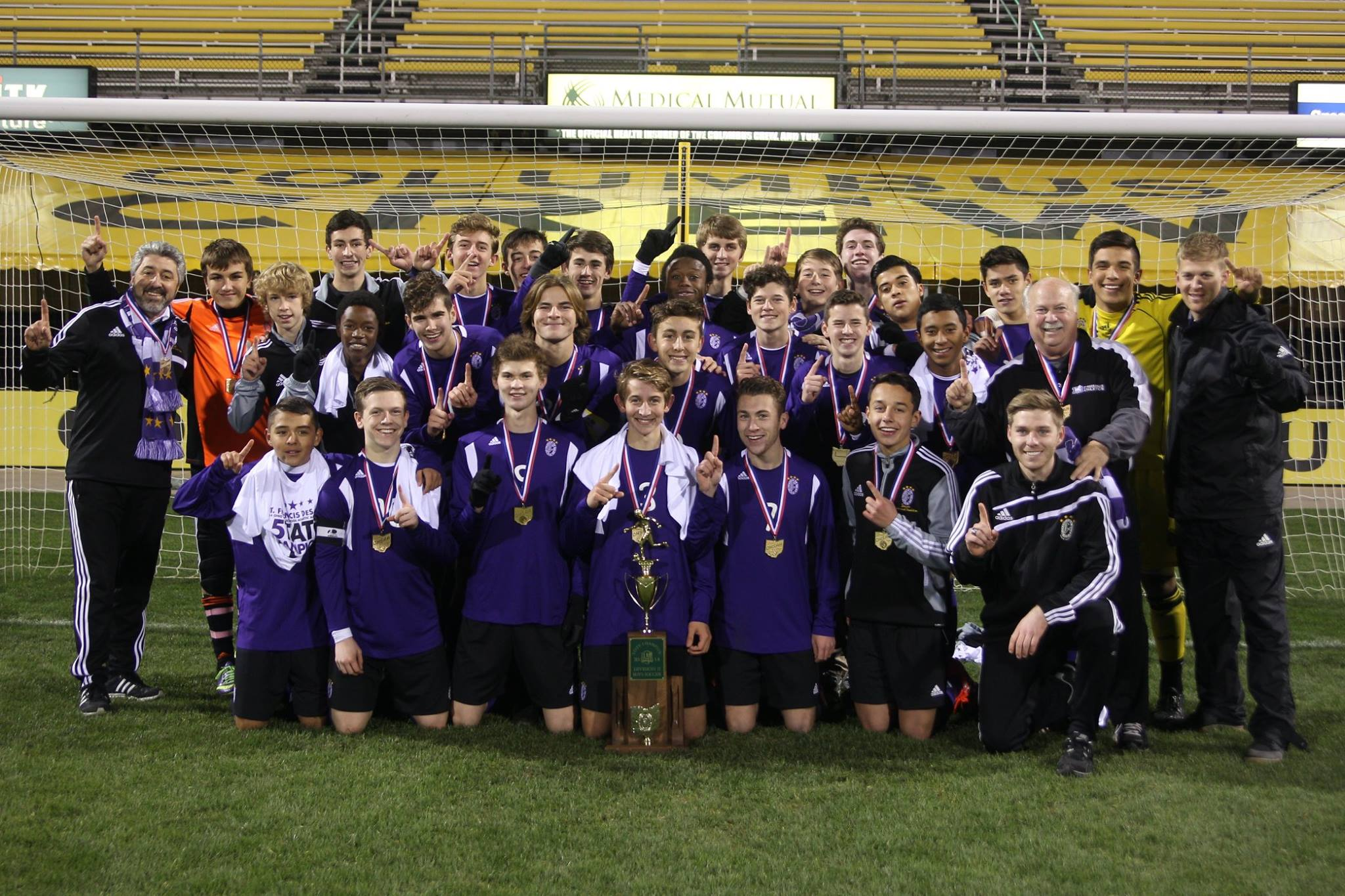 2014 STATE CHAMPIONS    Boys Soccer