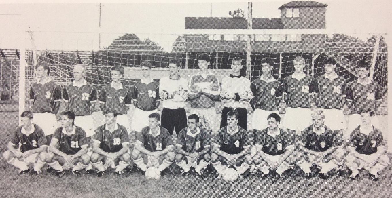 1990 STATE RUNNER-UP  Boys Soccer