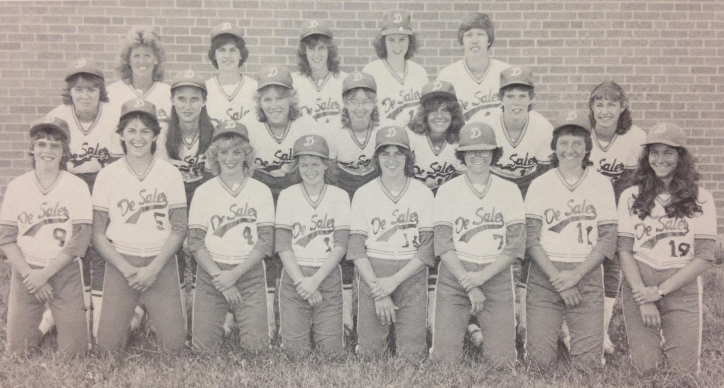 1982 STATE RUNNER-UP  Softball