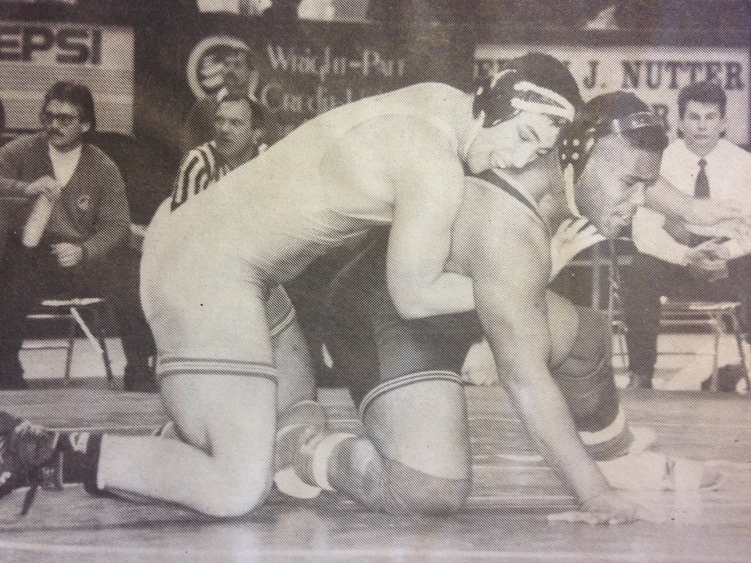 Fickell captured the 1992 State Championship in 54 seconds to win his 107th consecutive match