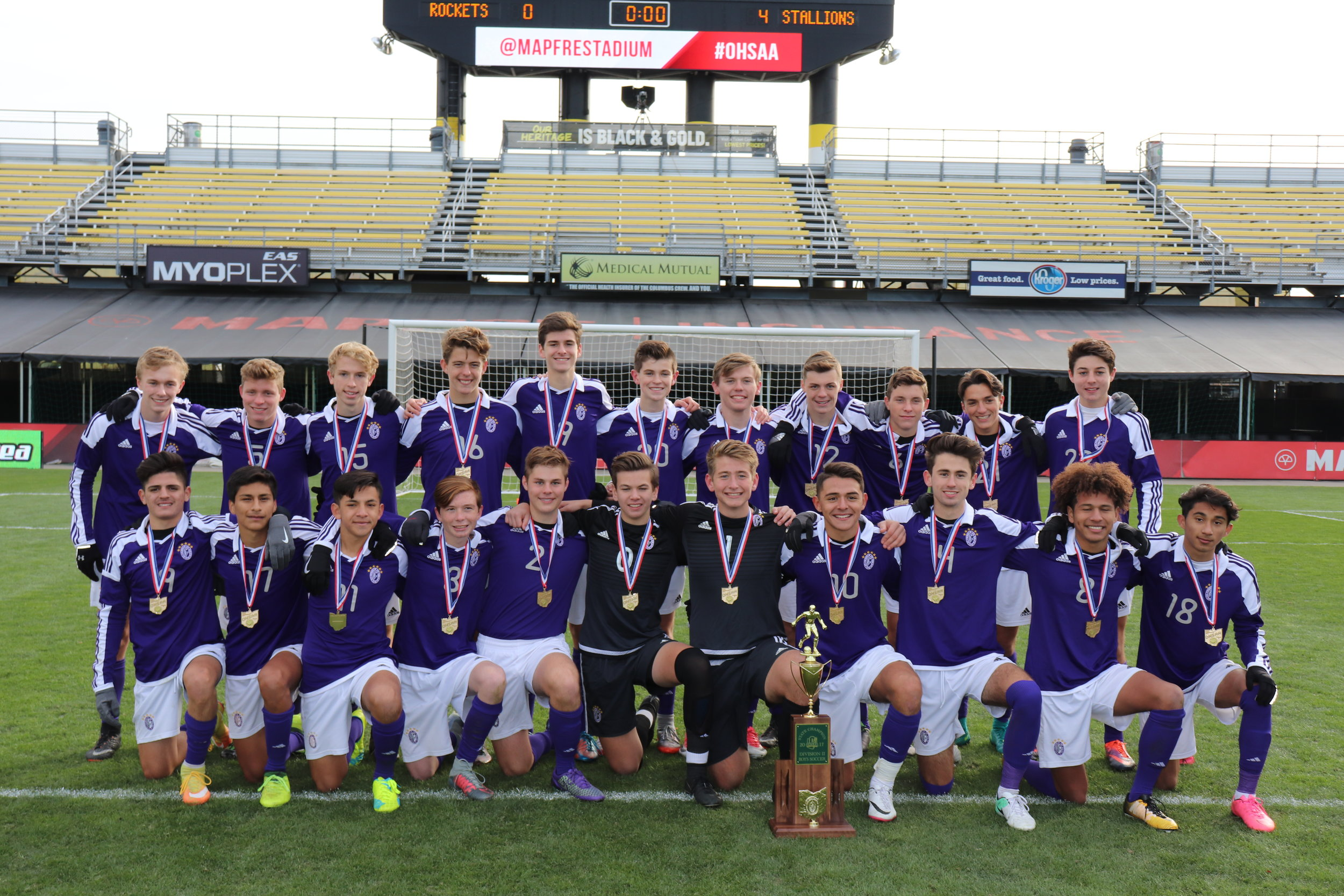 2017 STATE CHAMPIONS    Boys Soccer
