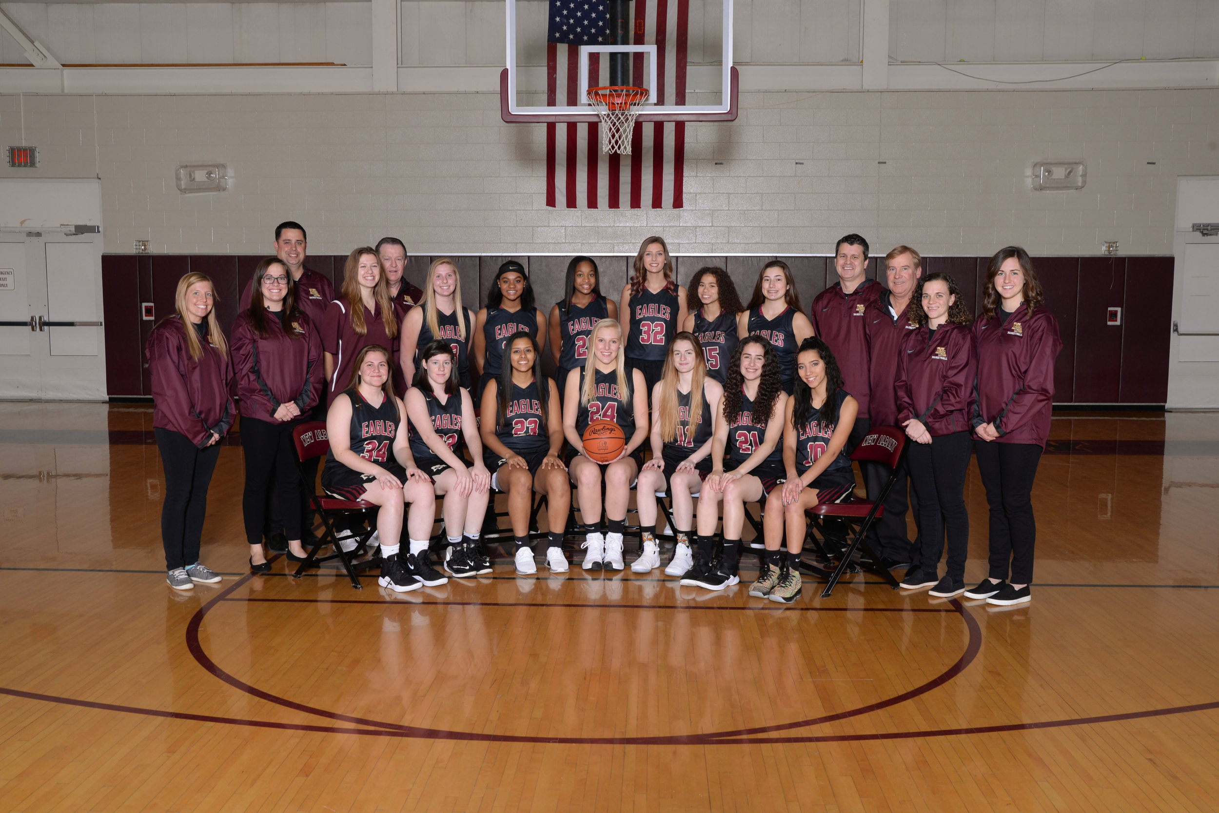 2018 Roosters Stallion Holiday Classic - New Albany High School Eagles