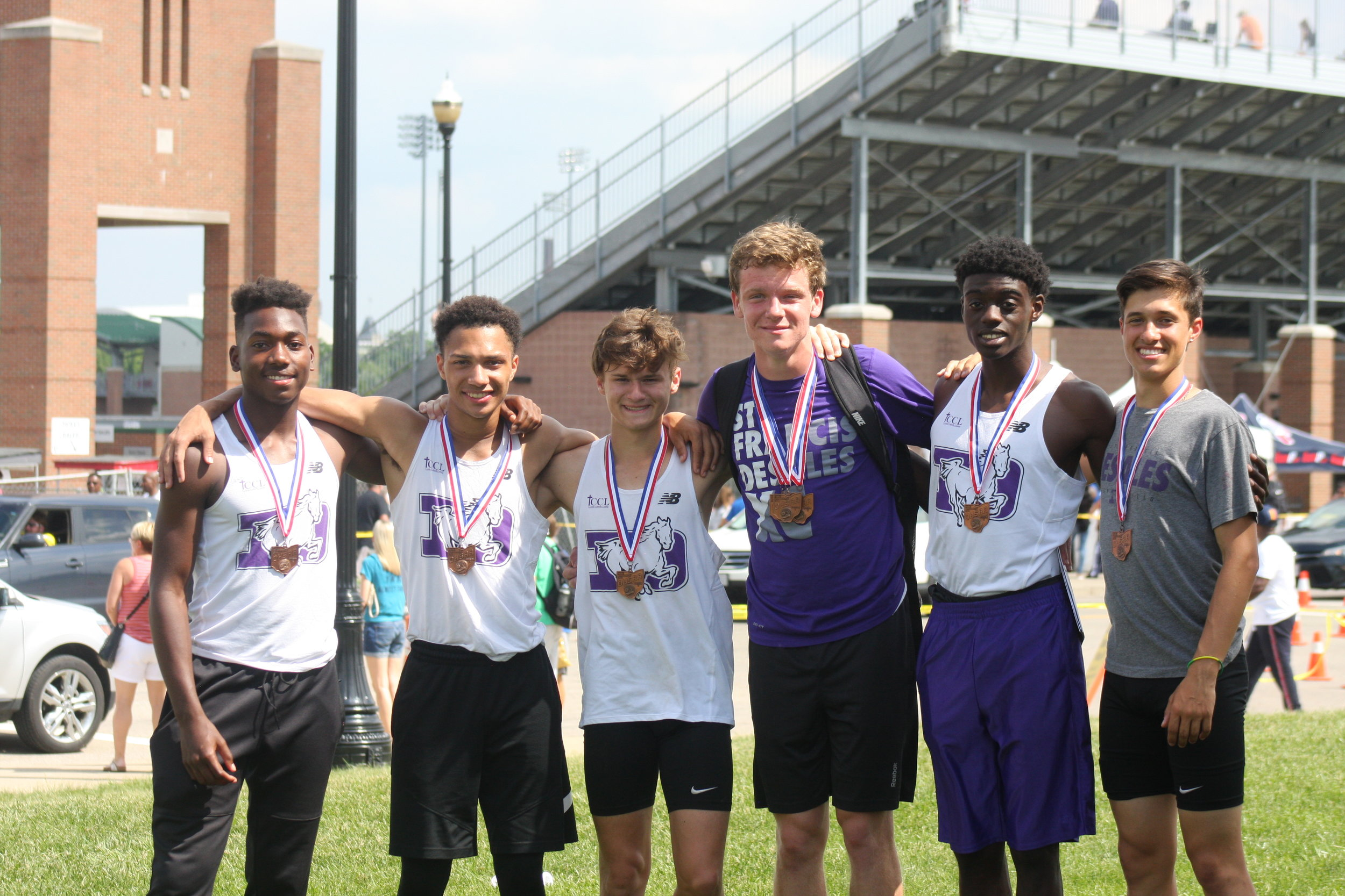 TRACK + FIELD    boys relays all ohio