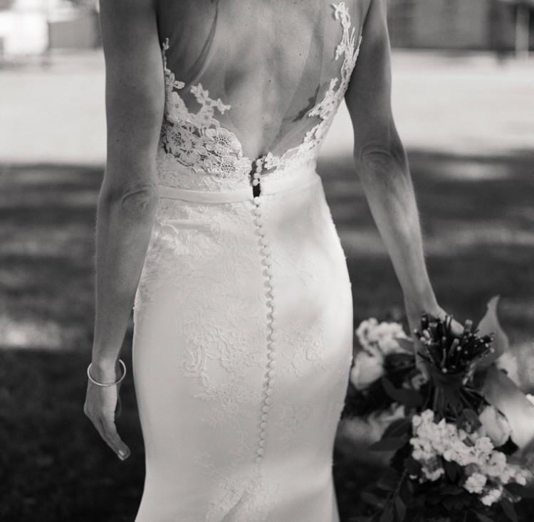Open back wedding dress - eversomething.com