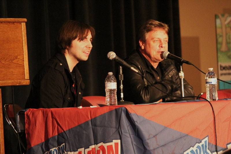 Hosting the Mark Hamill Panel - Javits Convention Center New York Comic Con