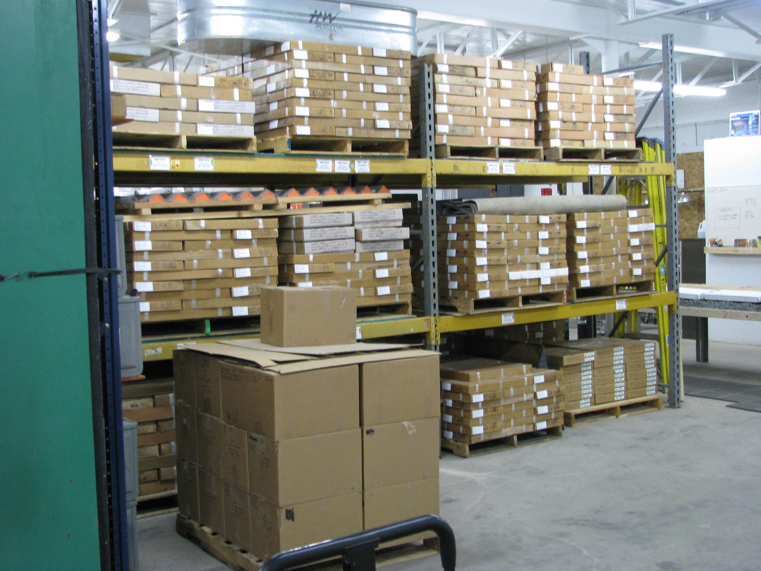 North East View of Pallet Racks 14  and 15.JPG