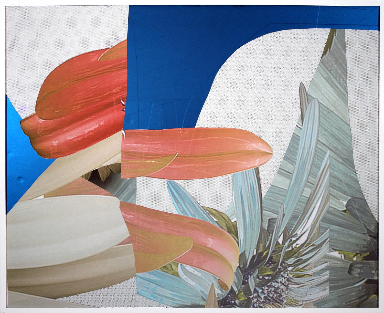 "2014 Adhesive vinyl on pvc 41"" x 50"""