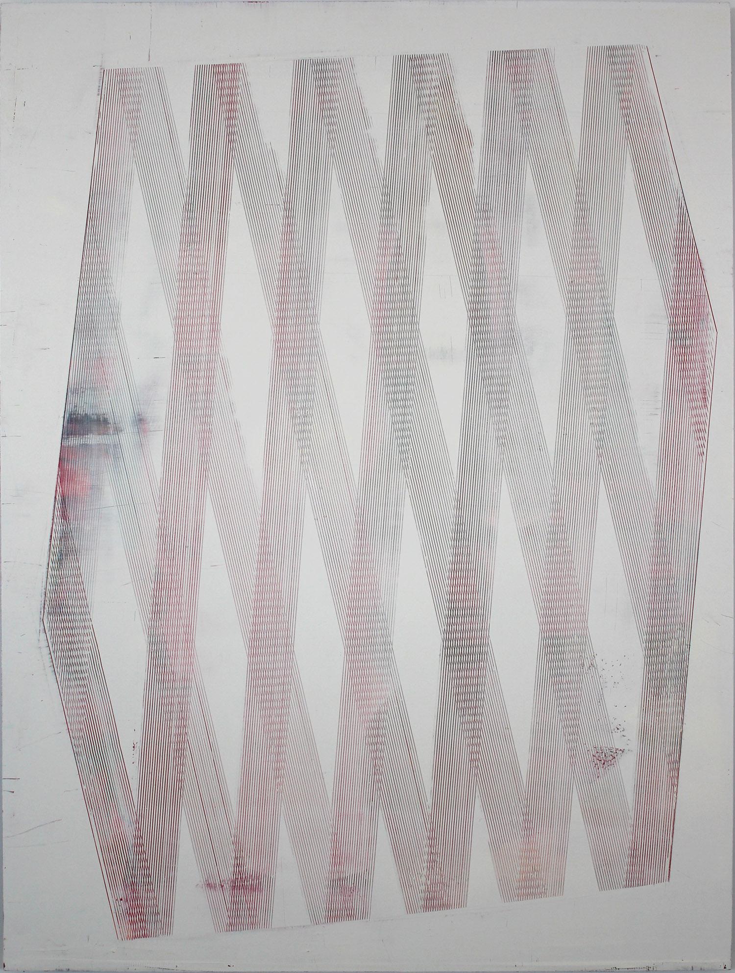 "2014 Oil on panel 35"" x 47"""