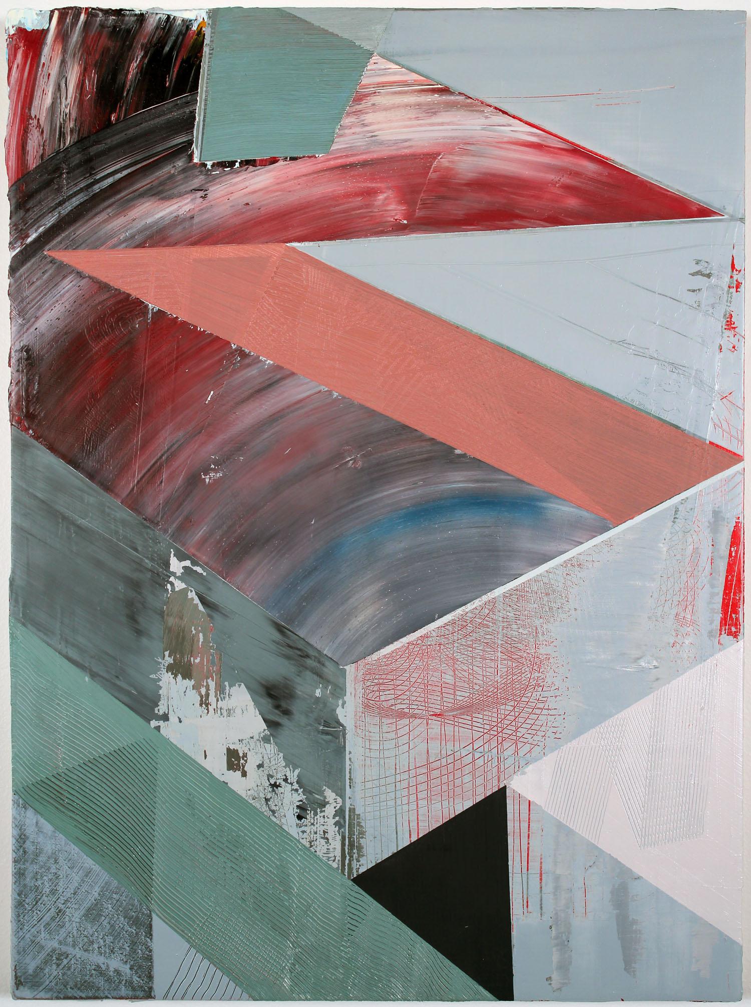 "2014 Oil on panel 12"" x 16"""
