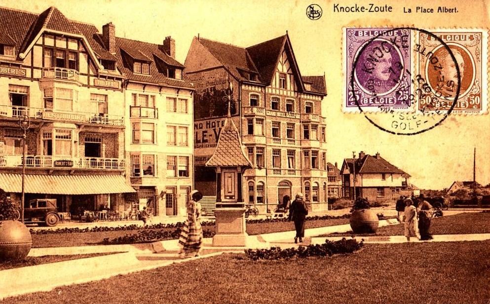 Robert's Bar, Knokke, 1922-1930