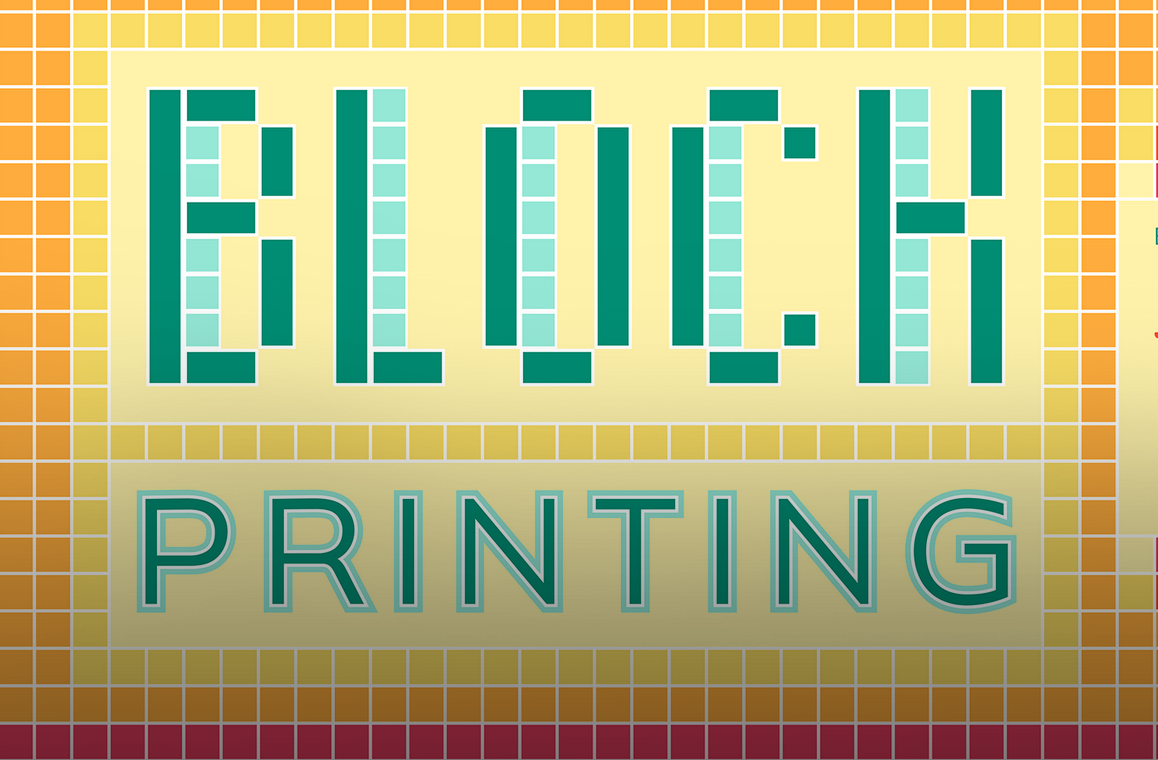 BLOCK PRINTING & LETTERPRESS WORKSHOP
