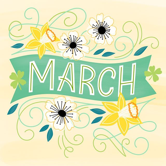 Hello March! Tag a #MarchBaby to wish them a happy birthday month! #MarchBirthdays #MarchBabies #MarchBirthday