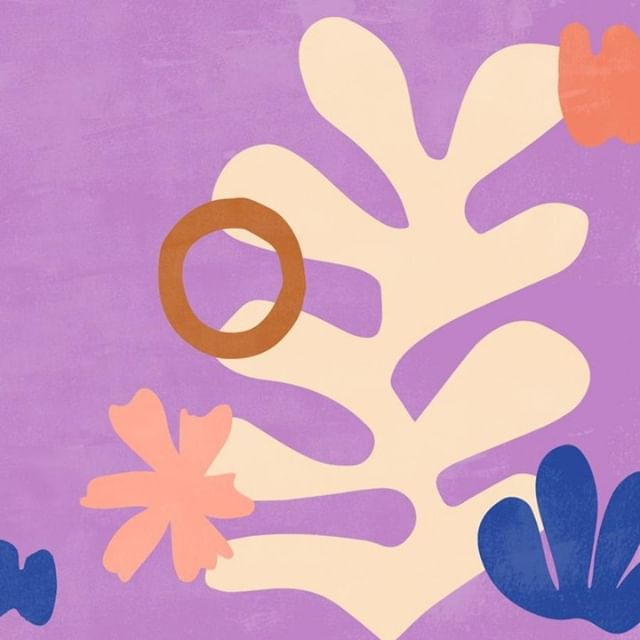 〰️ALMOST〰️ the weekend! Download this Matisse inspired wallpaper via our profile link & snap a photo of your screen and share with us #TMSdreamscreen. ⠀ . ⠀   #ThinkMakeShare #illustration #september #endofsummer #fall #autumn