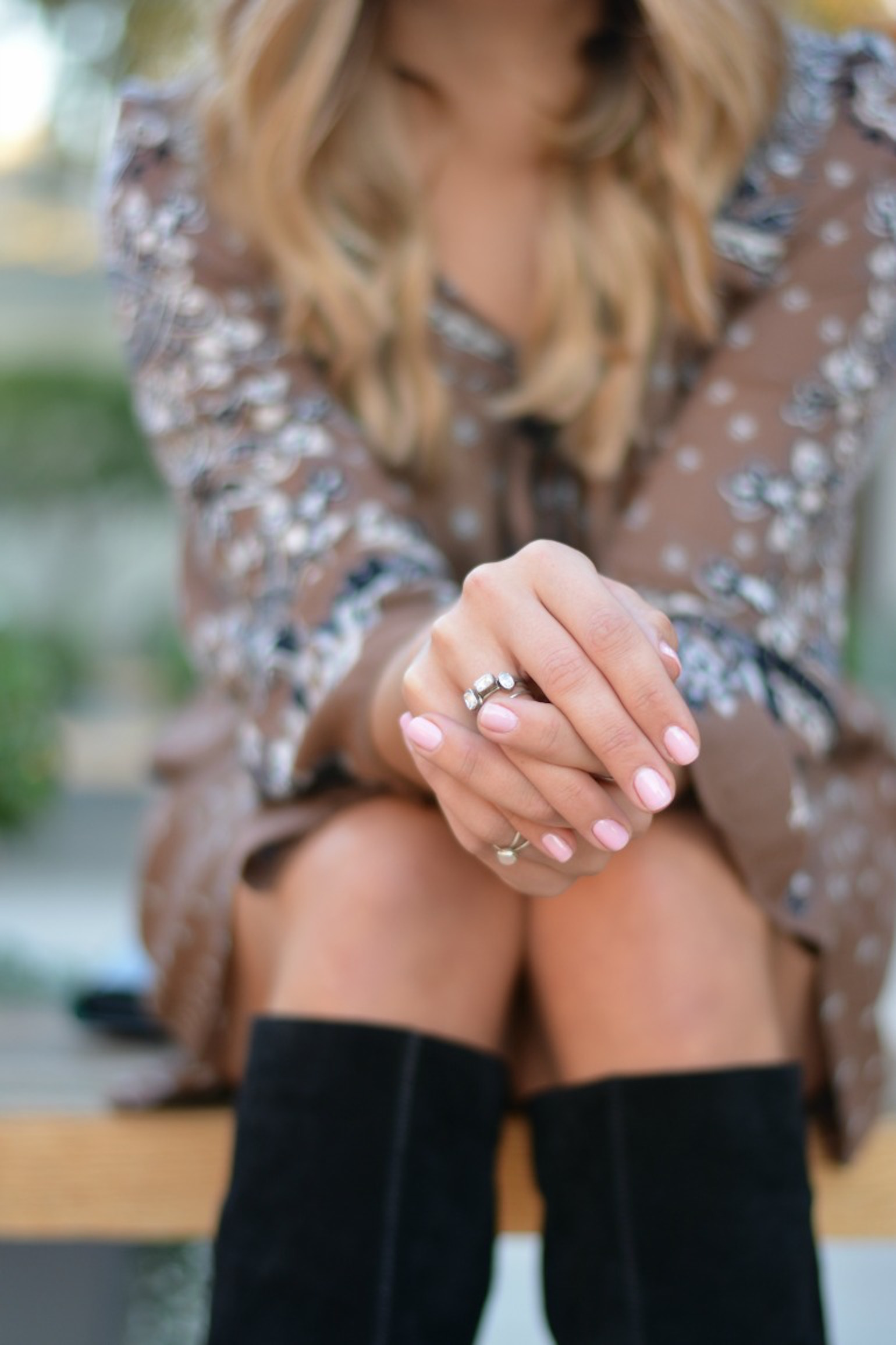 Dainty Stackable Rings -