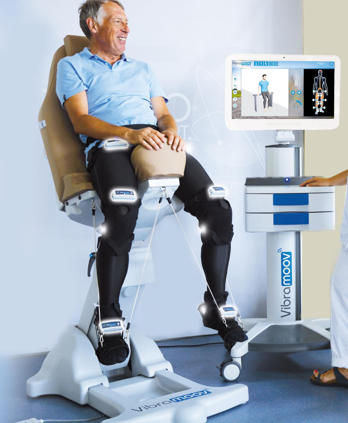 Vibramoov - Functional Proprioceptive Stimulation applied to the lower limbs