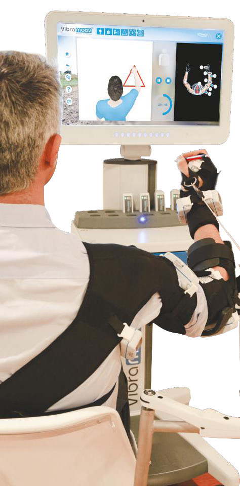 Vibramoov for Arm Rehabilitation