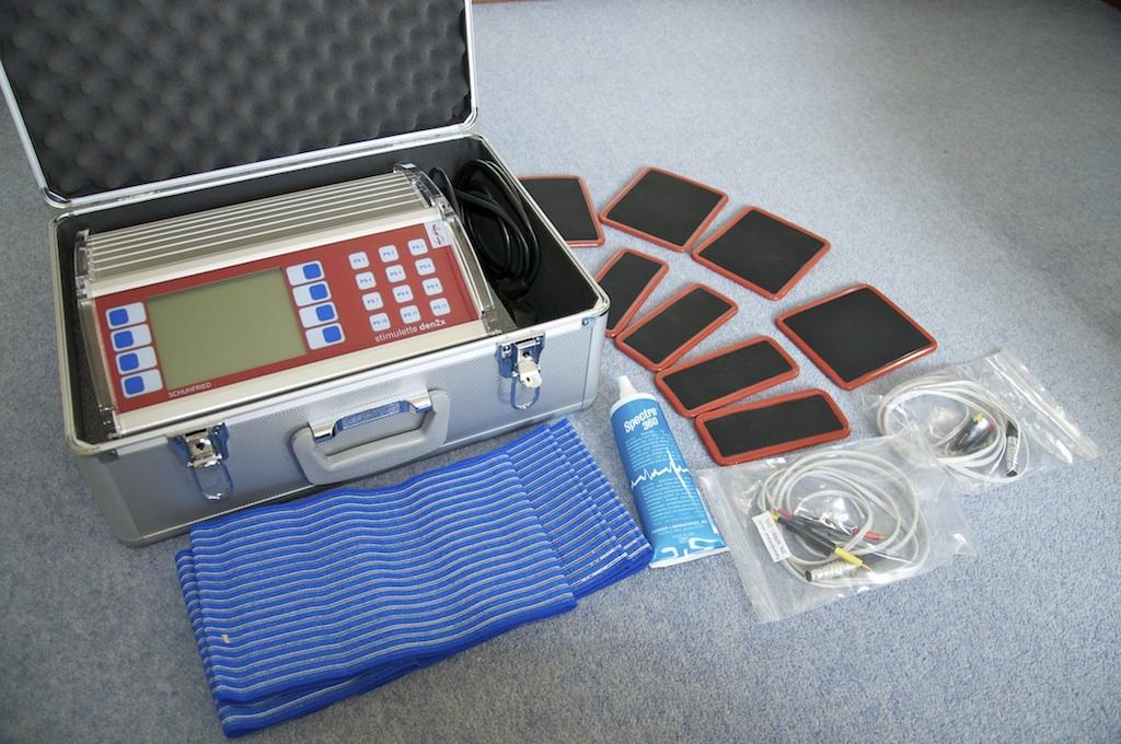 Stimulette Den2x system with Safety Electrodes