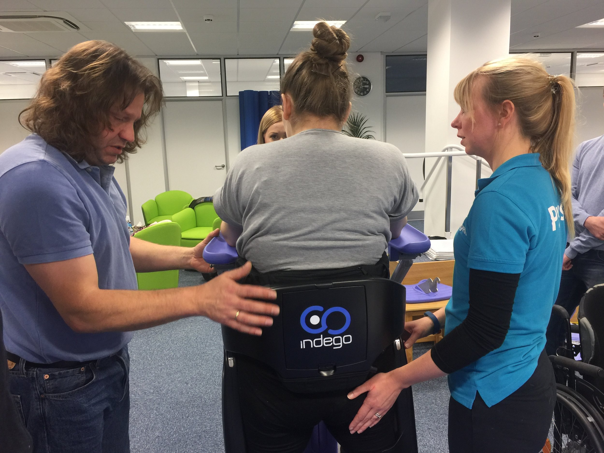 The Indego Therapy Kit supports rehab in way not possible in the past