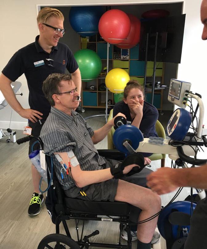 the RehaMove system supports Upper limb training
