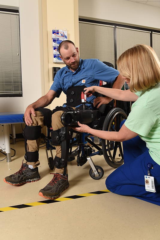 Adjusting the Indego Therapy Kit