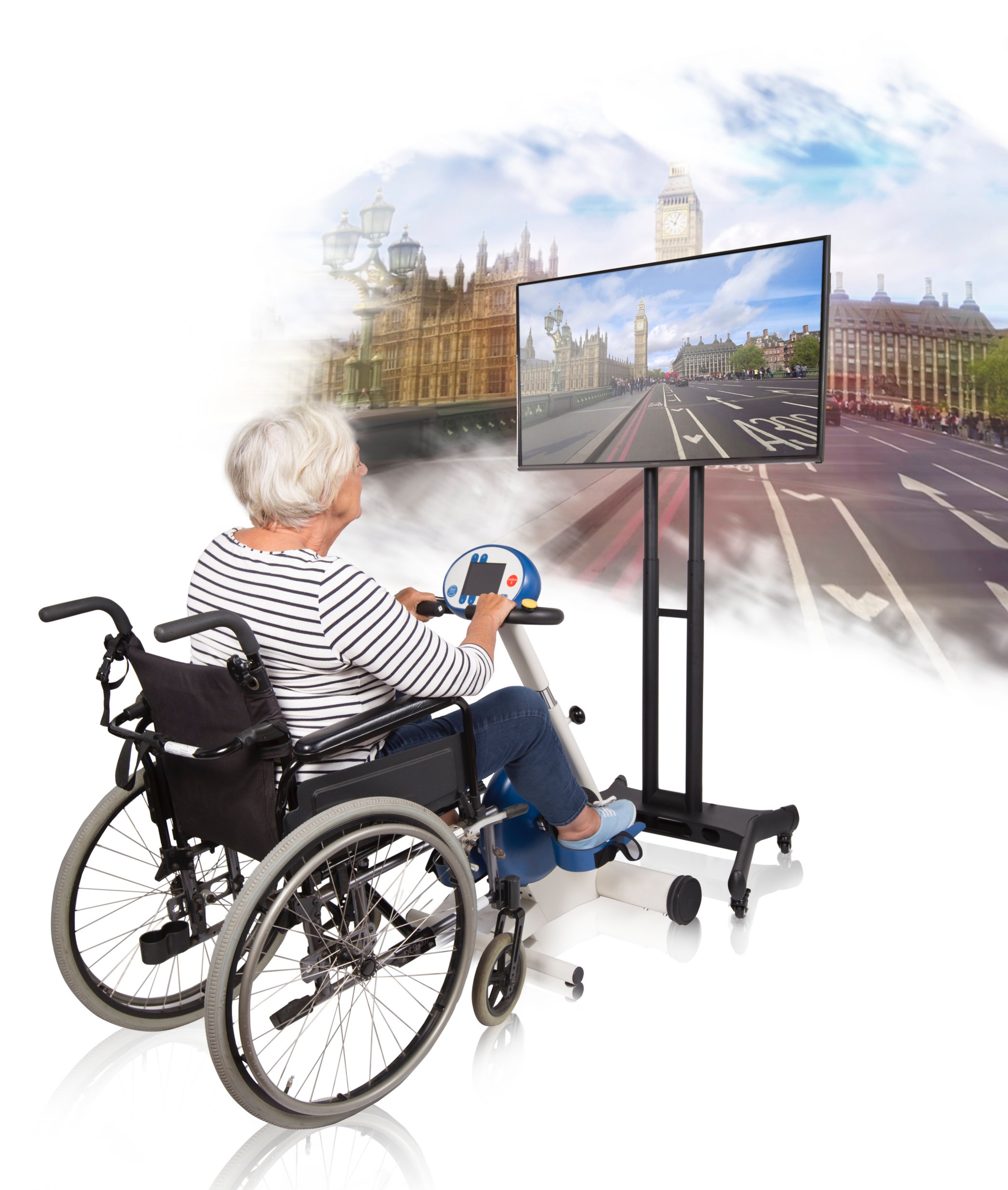 Interactive cycle routes stimulate cognition as well as providing exercise