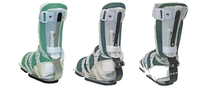 The 650, 652 and 653SKG orthosis designs offering adjustment options