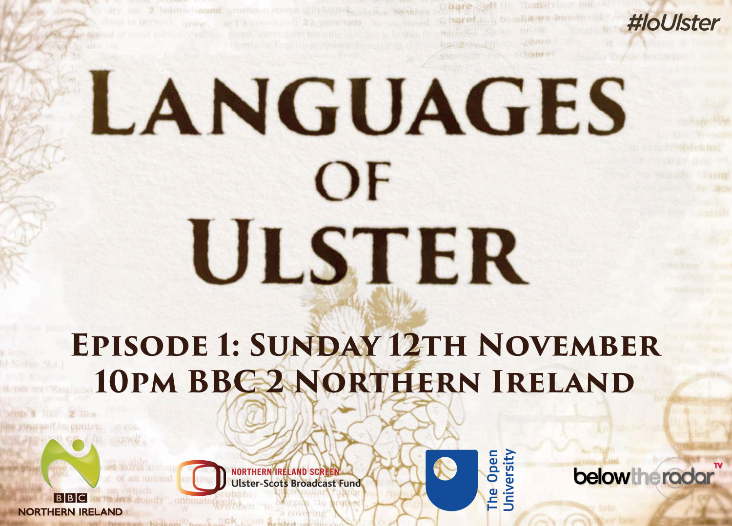 Languages of Ulster - Series for BBC Two NI
