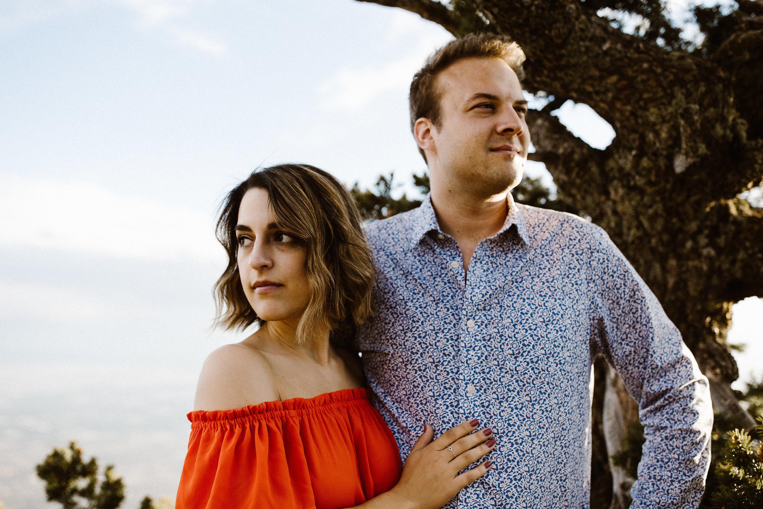 Alexandra & Ryne | Engagement | Sandia Mountains