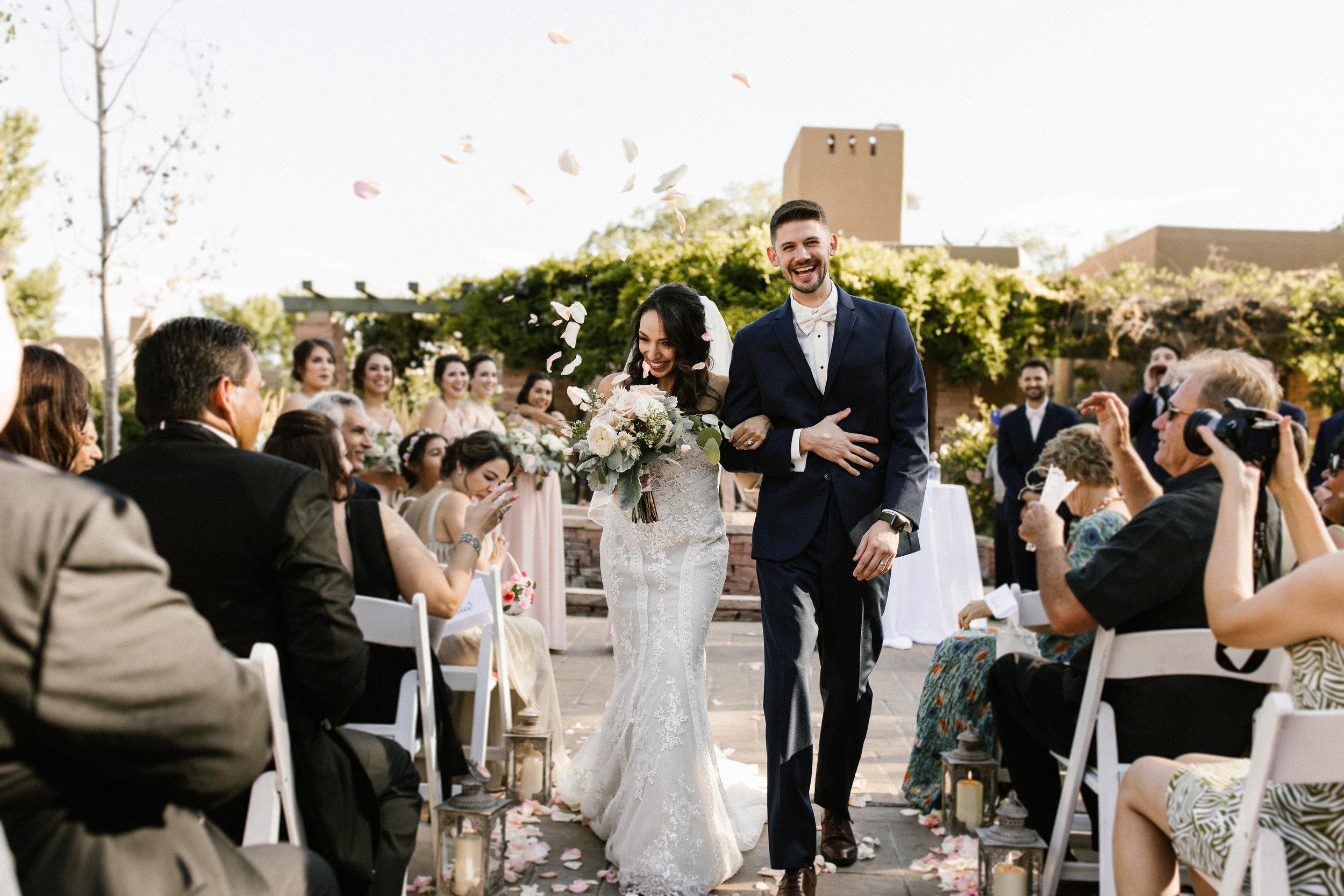 June & Kyle | Wedding | La Posada, Santa Fe