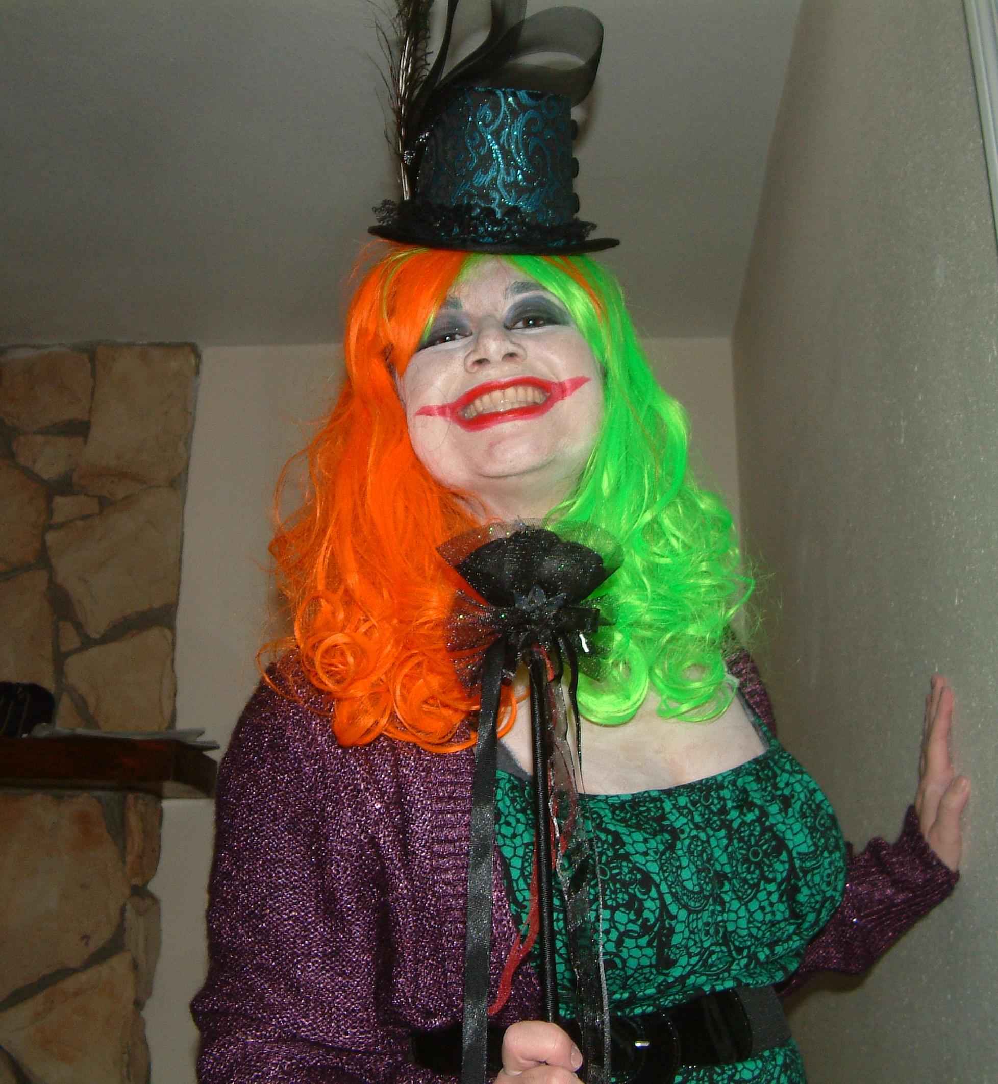 Femme Joker Getup