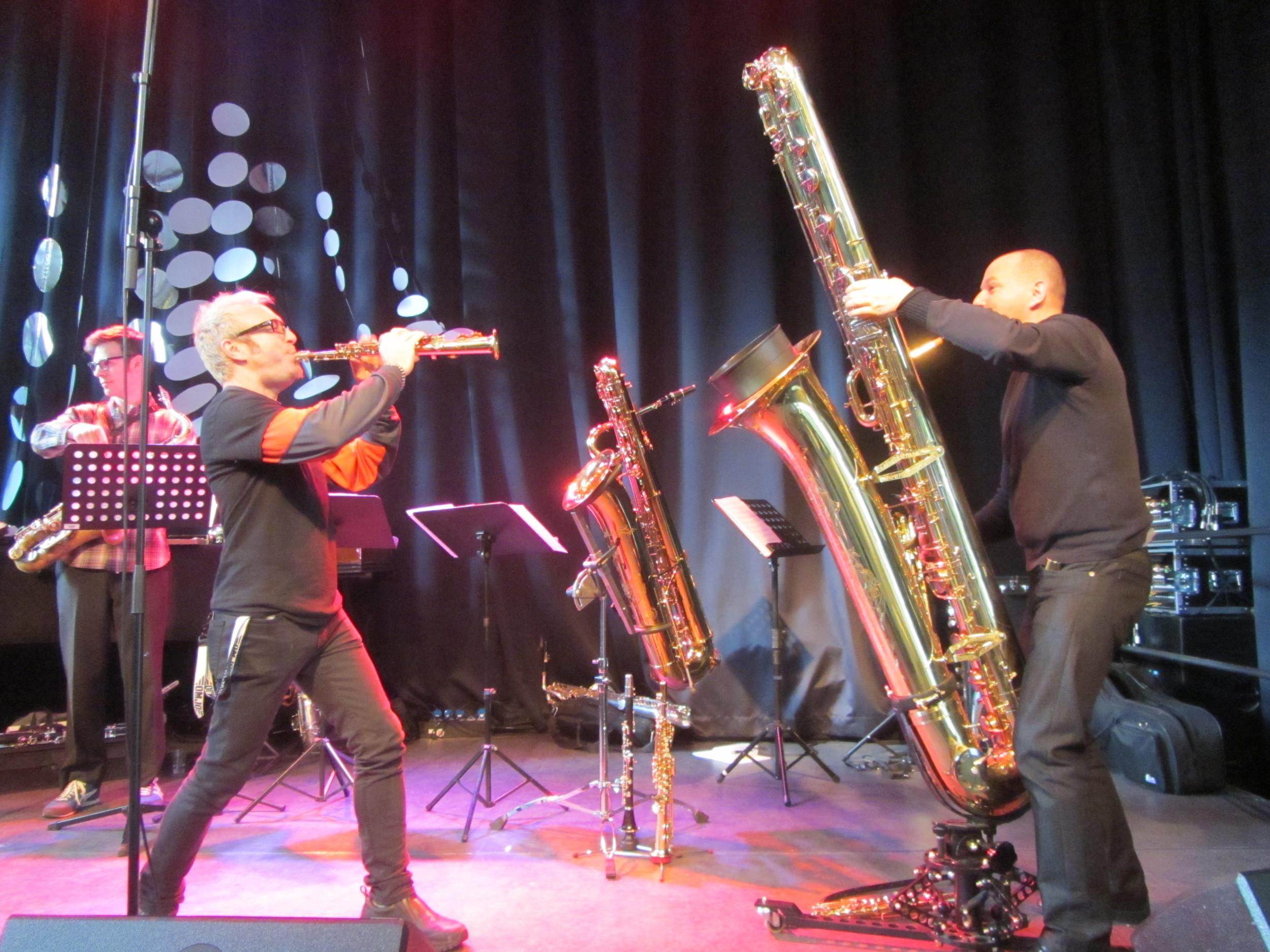 Dynamic Duo - Mars Williams & Thomas Meyer