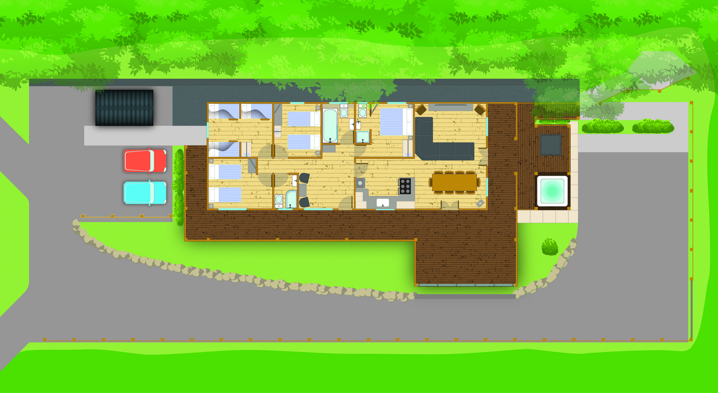 Meadow Lodge Floorplan