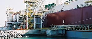 Figure 5.  The Bu Samra loading at Ras Laffan Port