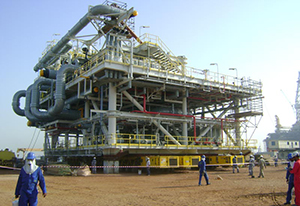 Figure 6.  A new LNG loading berth under construction