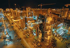 Figure 11.  The LNG facility at Ras Laffan port