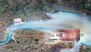 Figure 15.  Foster + Partners' masterplan for the Isle of Grain