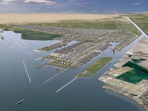 Figure 18.  Masterplan for the development of Port Said.