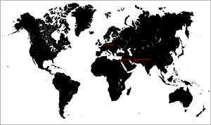 Figure 19.  The Bu Samra's global journey.