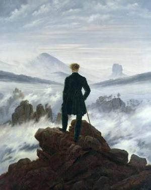 Figure 1. Wanderer Above The Sea of Fog. Caspar David Friedrich. 1818
