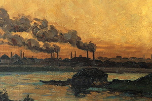 Figure 4. Sun Setting Over Industry and River at Ivry. Jean-Baptiste Armand. 187