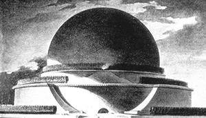 Figure 7. Newton's Cenotaph. Etienne-Louis Boullee. 178