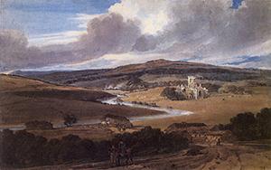 Figure 9. Kirkstall Abbey. Thomas Girtin. 1800